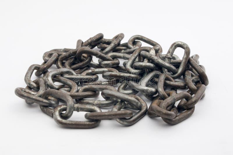 chain rostigt arkivfoto