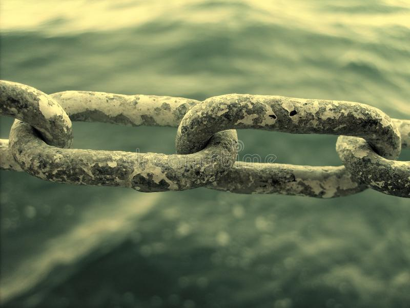 chain sammanlänkning arkivbild