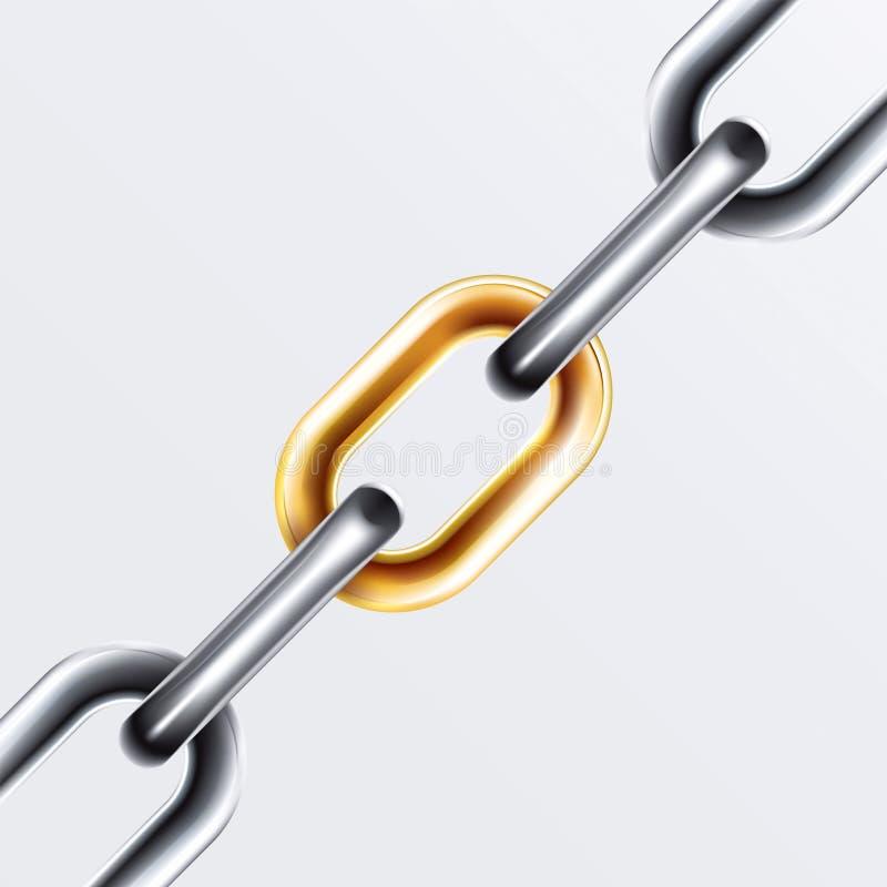 Chain Set 2 vector illustration