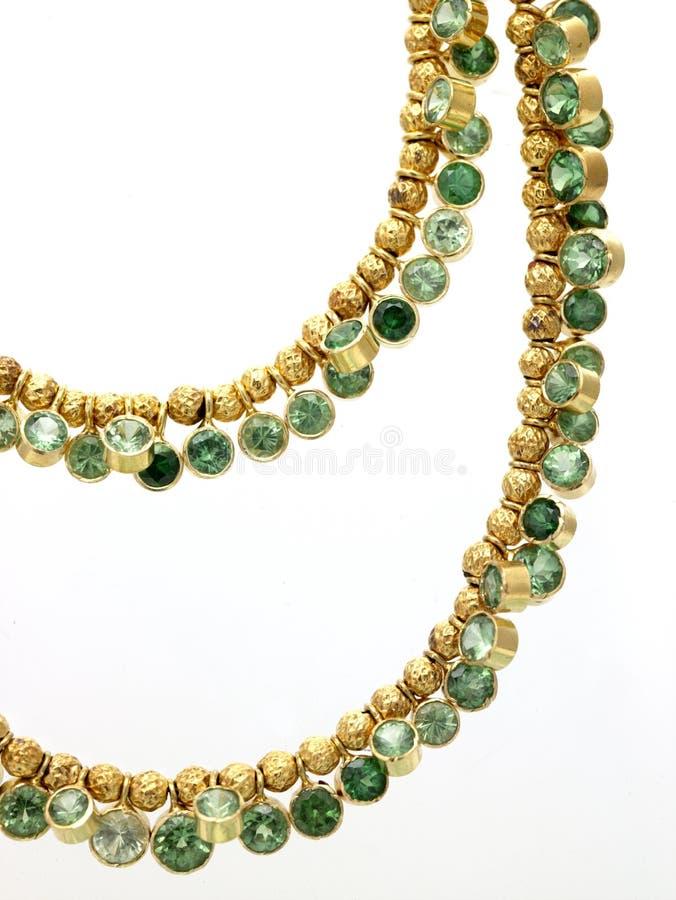 chain smaragd royaltyfri foto
