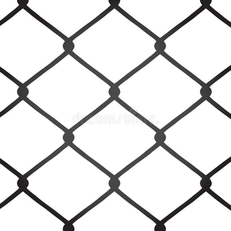 chain staketsammanlänkningsvektor stock illustrationer