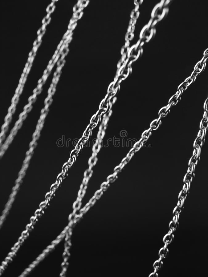 Chain strings stock photography
