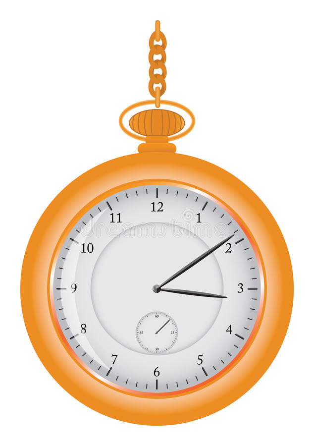 chain watch royaltyfri illustrationer
