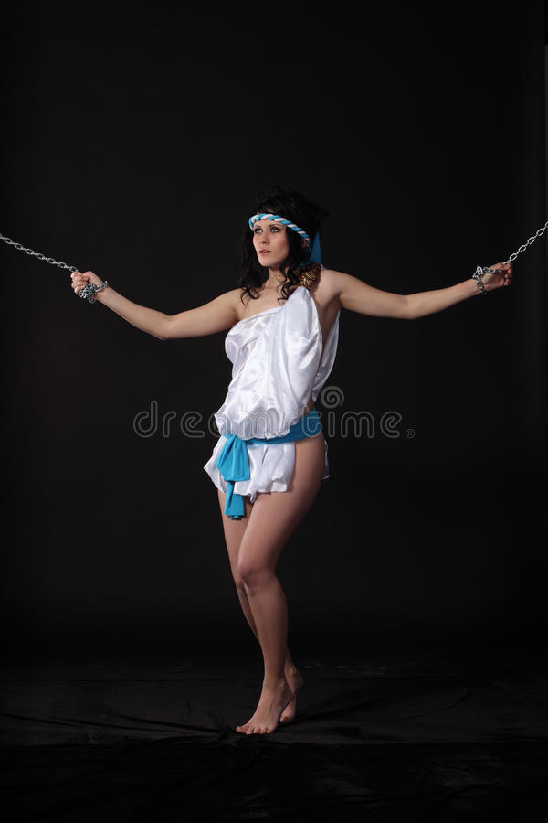 Download Chained Andromeda Royalty Free Stock Photo - Image: 19106085