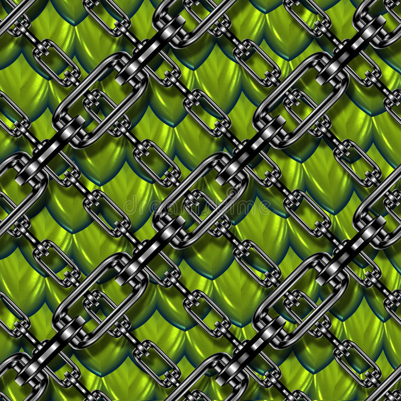 Download Chained down dragon scales stock illustration. Image of graphic - 3180947