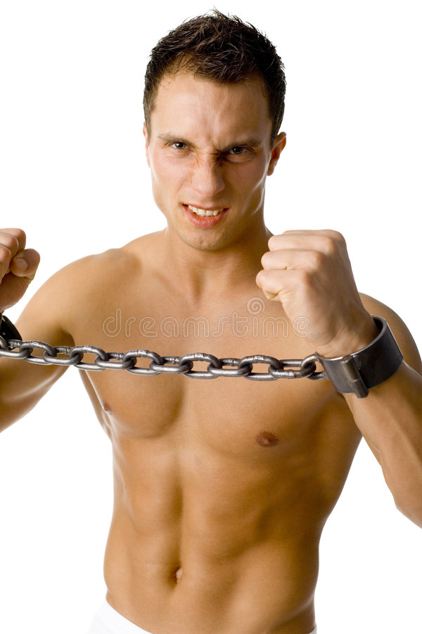 Free Chained Man Stock Photography - 1906592