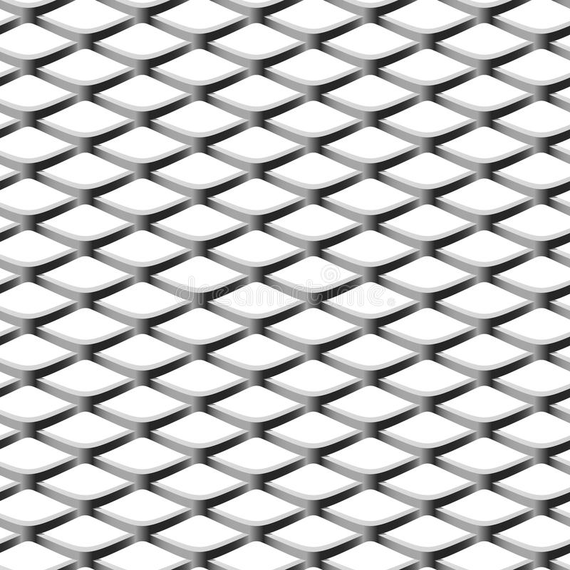 chainlink无缝范围的例证 向量例证