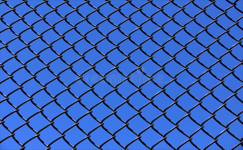 Chainlink en Hemel stock afbeeldingen