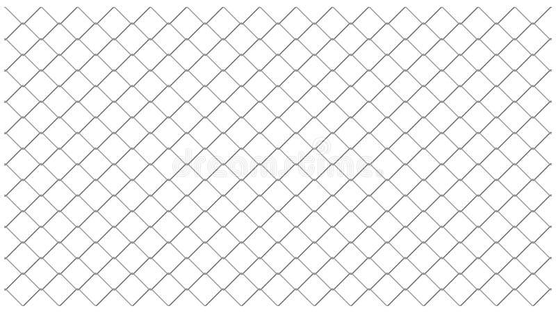 Chainlink fencing mesh vector pattern vector illustration
