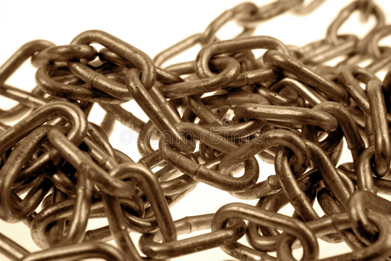 Chainlinks foto de archivo