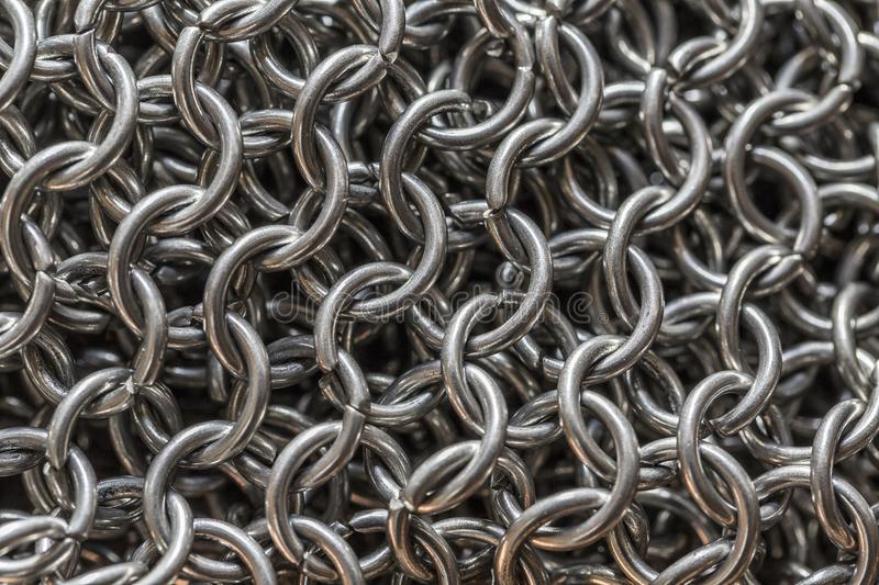 Chainmail immagine stock