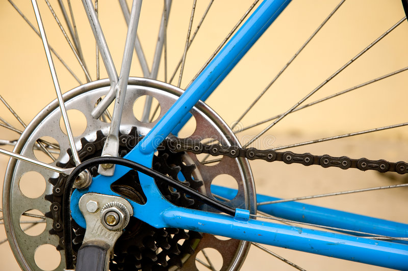 Chainrings royalty free stock photography