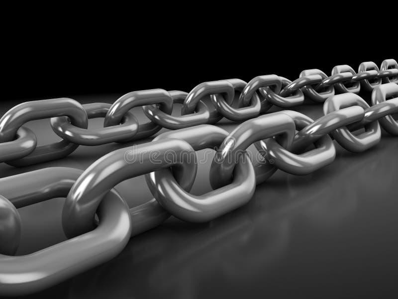 Download Chains stock illustration. Image of safe, link, safety - 17646350