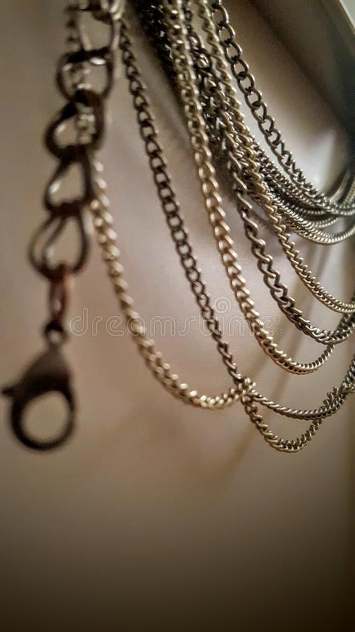 Chains royalty free stock photos