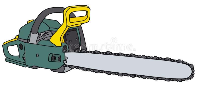 chainsaw illustrazione vettoriale