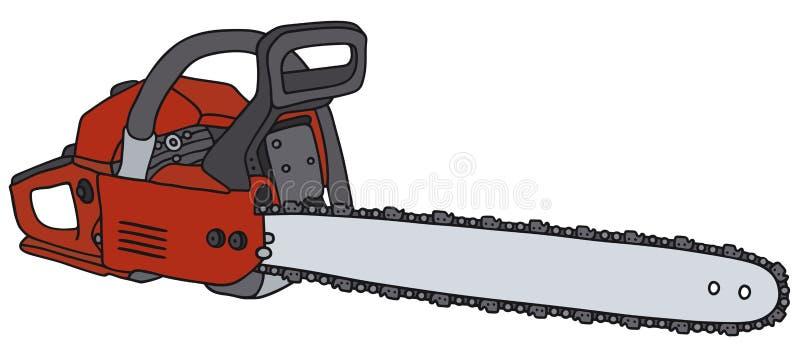 chainsaw libre illustration