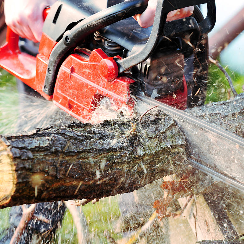 chainsaw imagens de stock royalty free