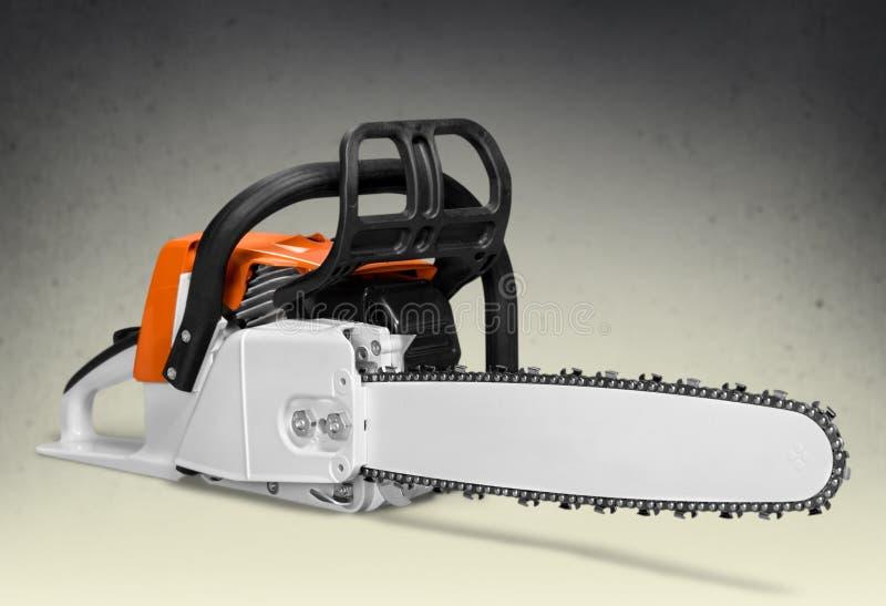 Chainsaw. Work Tool Gardening Equipment Safety Equipment Blade Working stock image