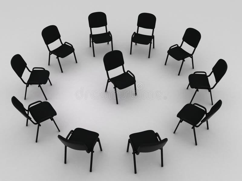 Chair royalty free illustration