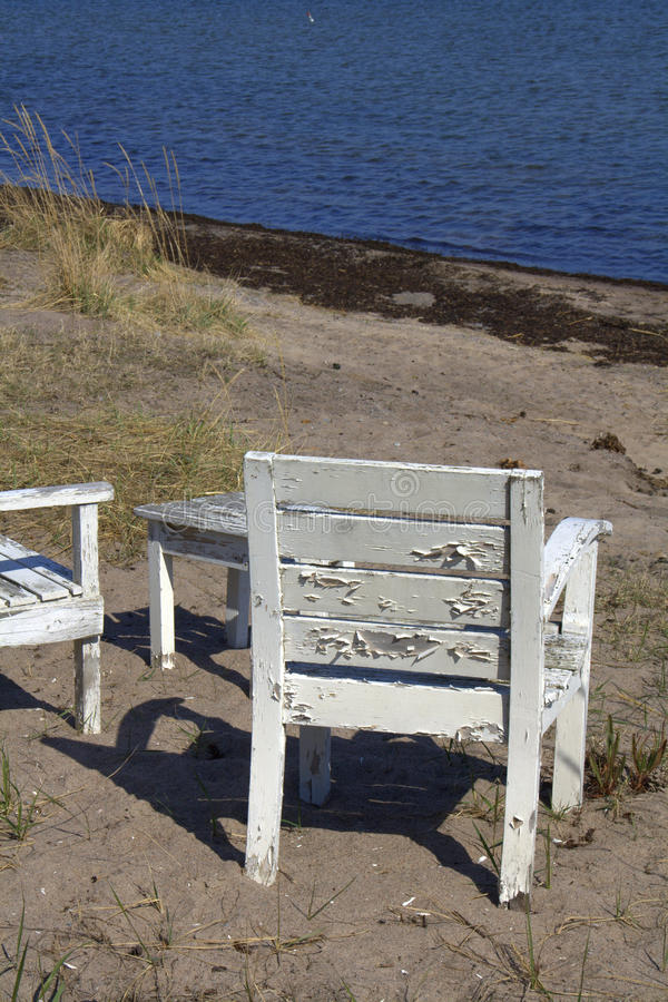 Download Chair on beach stock photo. Image of seaside, seat, beach - 19347876