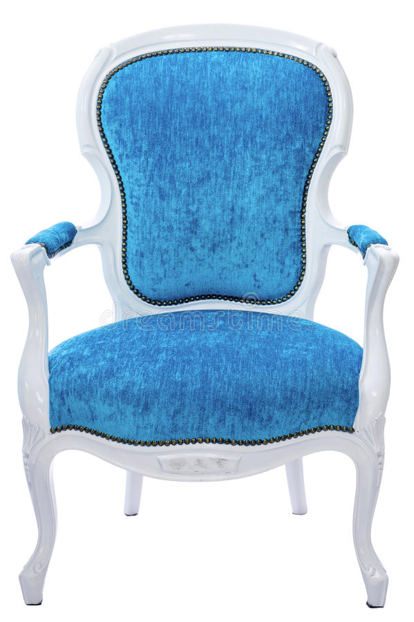 Chair. Classic chair isolated at the white background vector illustration
