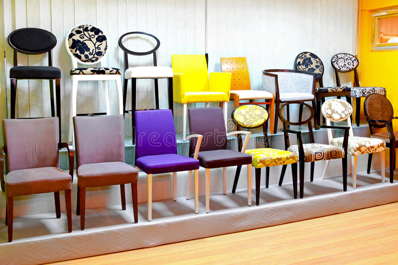 Download Chair display stock image. Image of tidy, display, pattern - 15049559