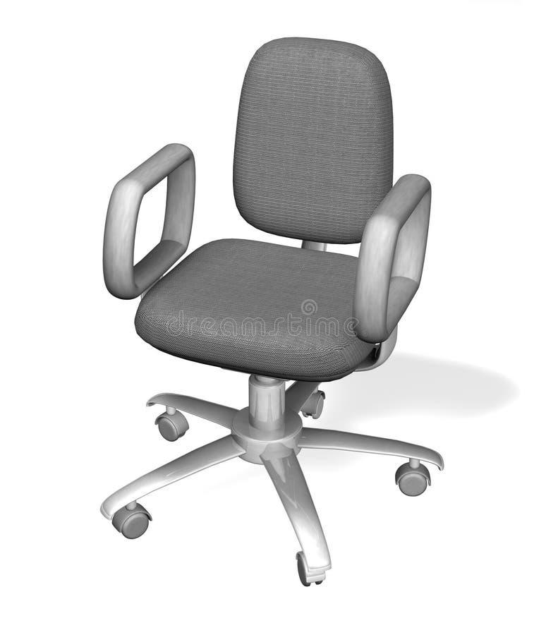 chair illustrationkontoret vektor illustrationer