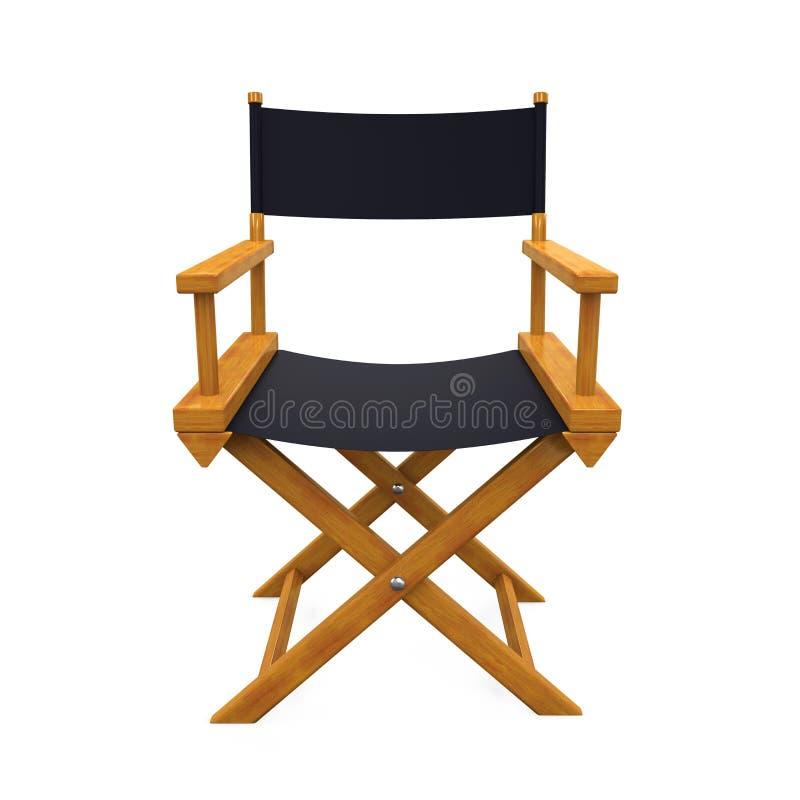 Chair Isolated主任 向量例证