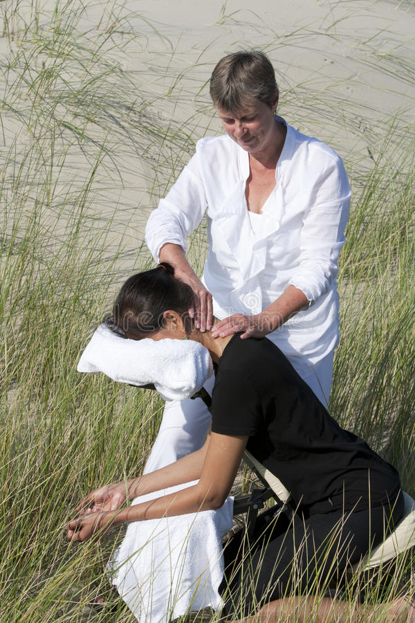 Download Chair massage stock image. Image of leisure, didien, body - 21618571
