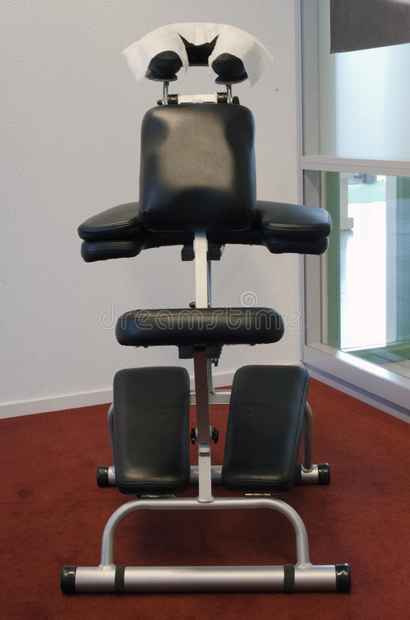 Chair massage for business stock image. Image of employees ...