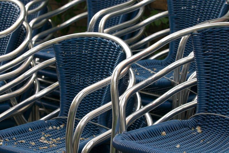 Chair parade royalty free stock photos