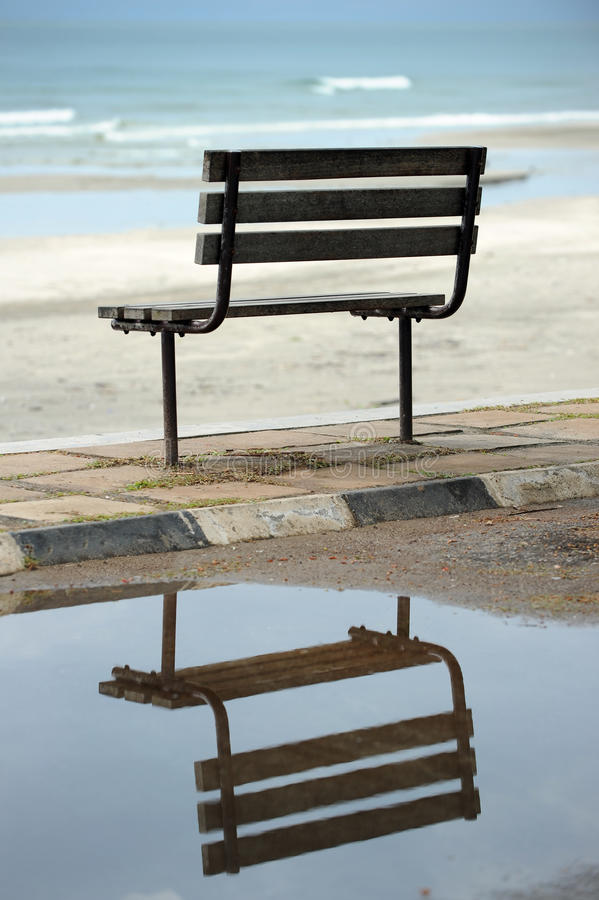 Chair Reflection Stock Photo