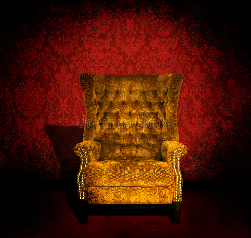 Download Chair in a room stock photo. Image of nail, shadows, scary - 6503554
