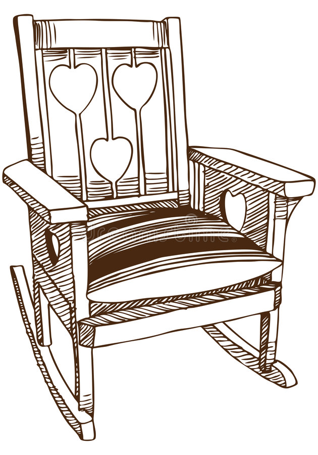 Chair Sketch Stock Image