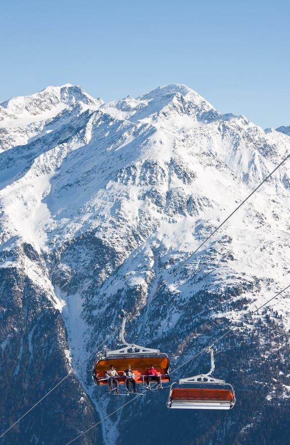 Download Chair ski lift stock image. Image of high, lift, rocks - 21487015