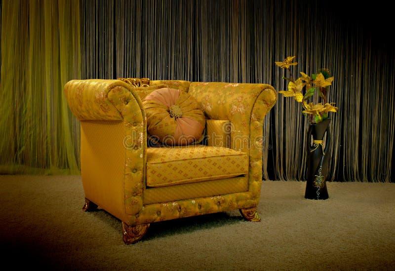 chair tappning arkivbild