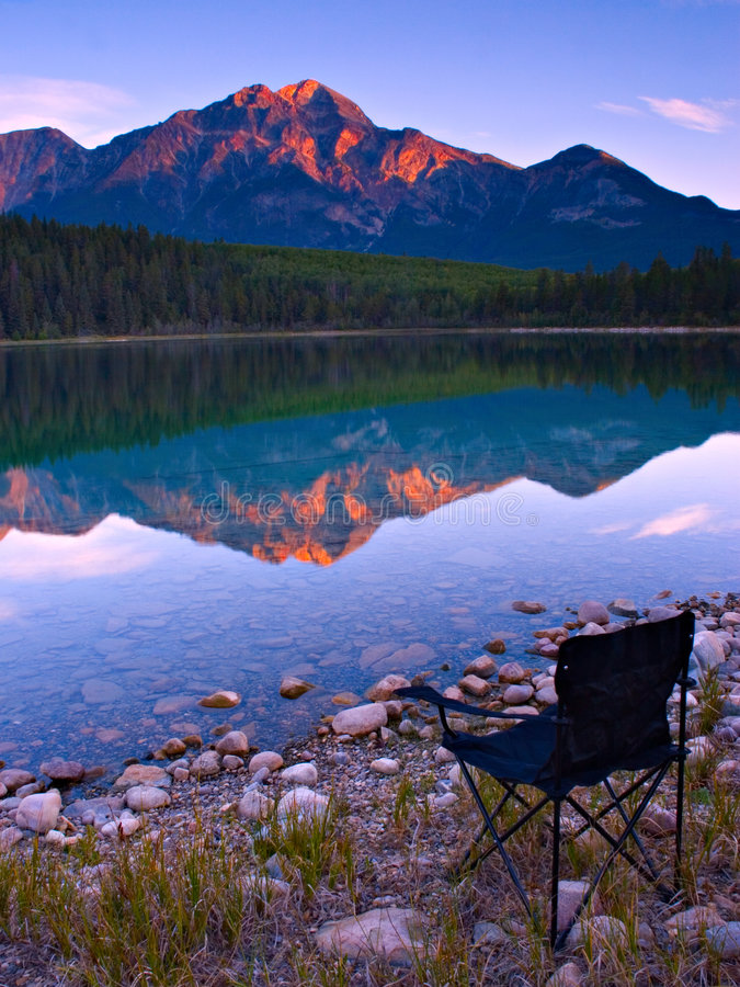 Download Chair with a View stock image. Image of tranquil, chair - 474675