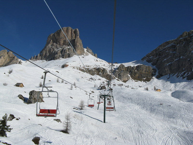 chairlift παλαιό στοκ εικόνα με δικαίωμα ελεύθερης χρήσης