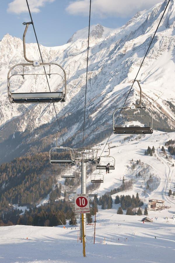 chairlift вниз стоковые изображения rf
