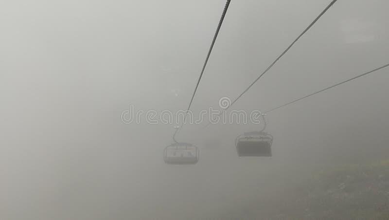 chairlift стоковая фотография rf