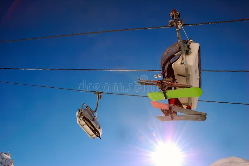 chairlift στοκ εικόνα με δικαίωμα ελεύθερης χρήσης