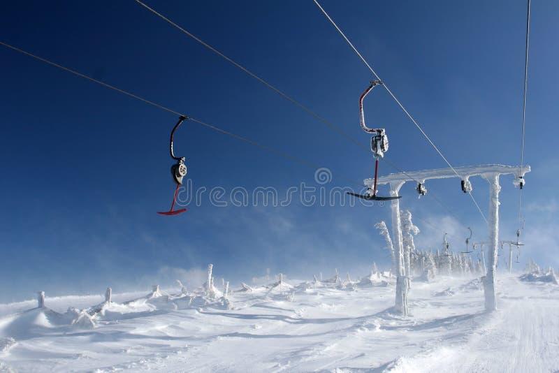 chairlift стоковое изображение