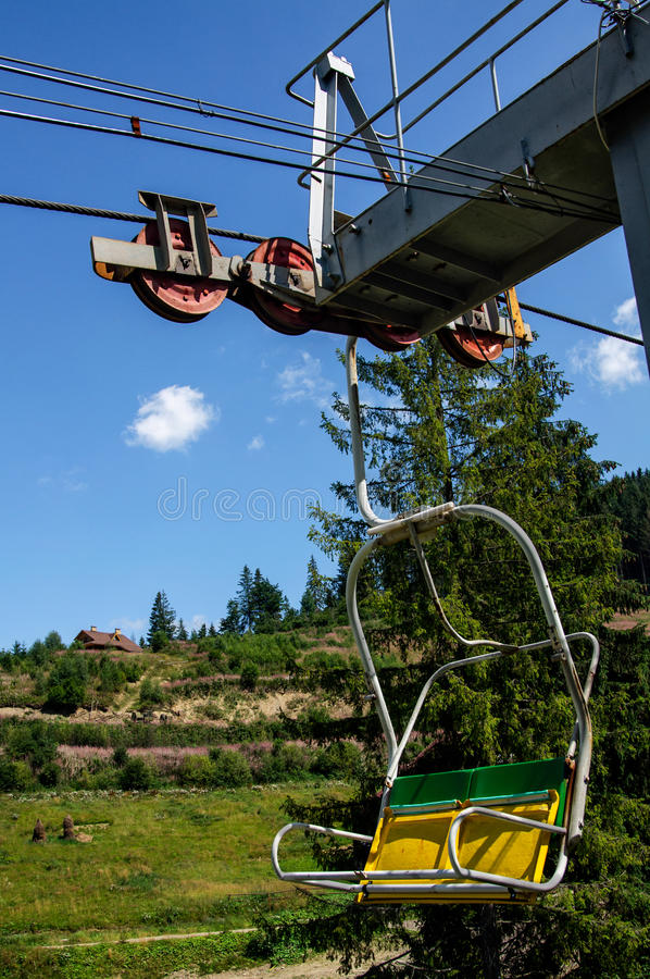 chairlift стоковое фото