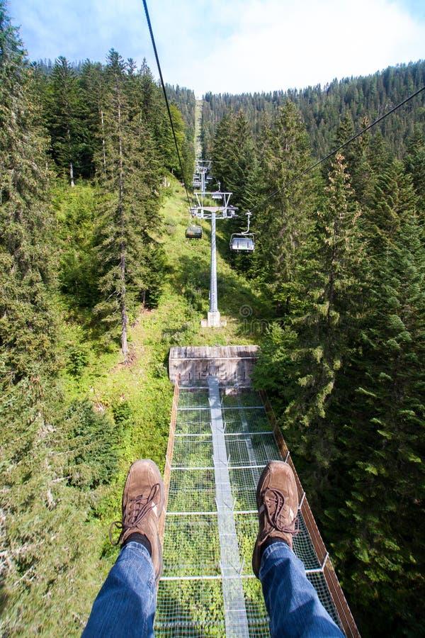 chairlift стоковые фото