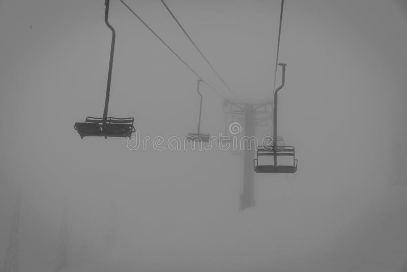 chairlift стоковое изображение rf