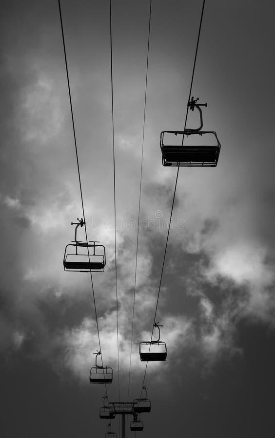 chairlift стоковые изображения rf
