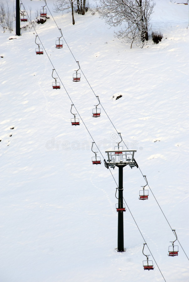 Free Chairlift Royalty Free Stock Photo - 7752855