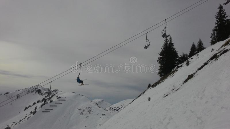 chairlift fotos de stock royalty free