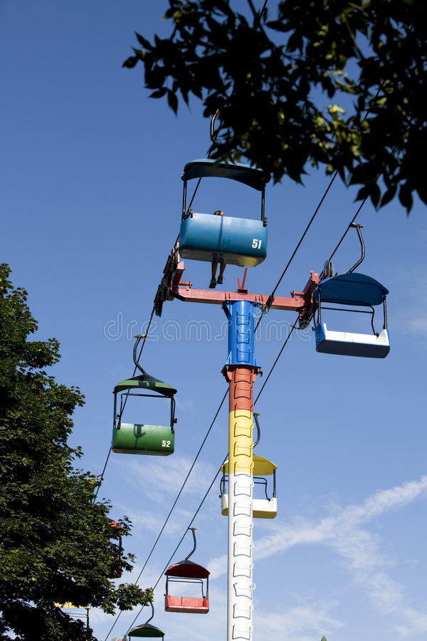Free Chairlift Royalty Free Stock Photo - 9082295
