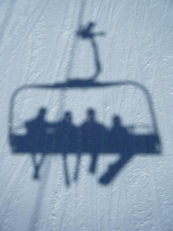 chairlift przejażdżka zdjęcia royalty free